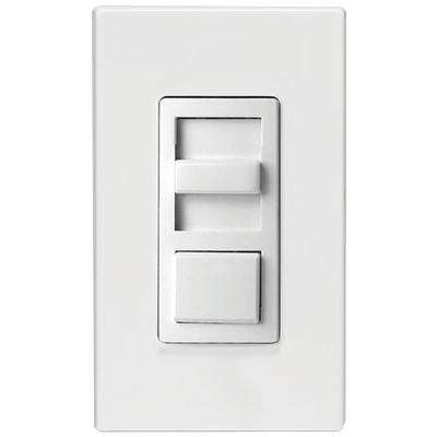 Dimmers dimmers switches outlets the home depot illumatech 150 watt single pole and 3 way incandescent cfl led sciox Choice Image