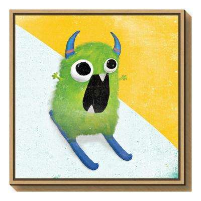 """Xtreme Monsters II"" by Sarah Adams Framed Canvas Wall Art"