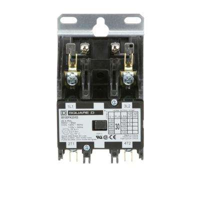 30 Amp 120-Volt AC 2 Pole Open Definite Purpose Contactor (20-Pack)