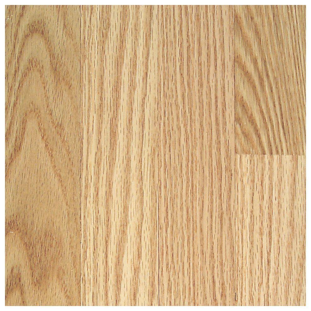 Mohawk Wilston Red Oak Natural Hardwood Flooring - 5 in. x 7 in. Take Home Sample