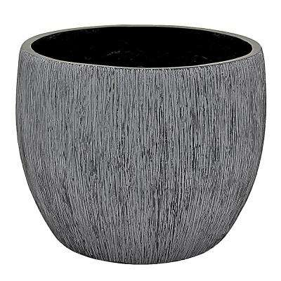 12.5 in. x 12.5 in. Planter-Small in Gray