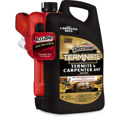 Terminate 1.3 Gal. AccuShot Ready-to-Use Termite and Carpenter Ant Killer Spray