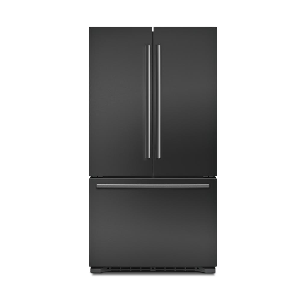 Bosch 800 Series 36 In. 20.7 Cu. Ft. French Door Refrigerator In Black