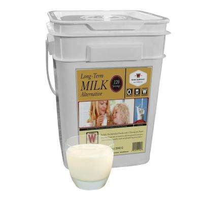 120 Whey Milk Emergency Serving Grab and Go Bucket