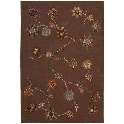 Contour Brown 4 ft. x 6 ft. Area Rug