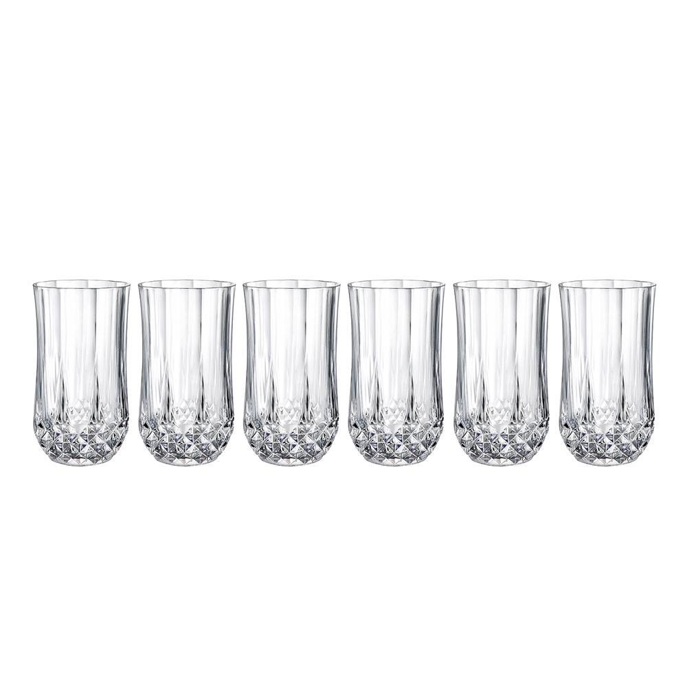 Longchamp 12 oz. Beverage Glass (Set of 6)