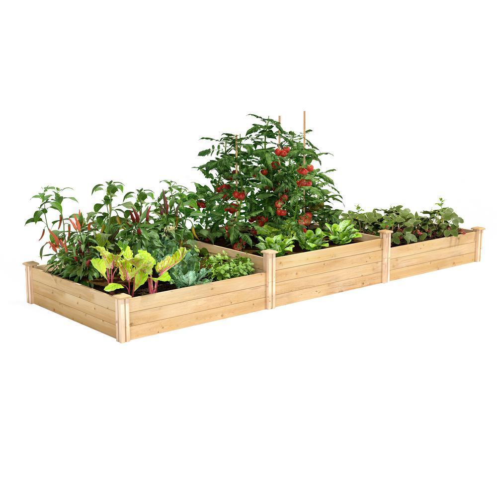 4 ft. x 12 ft. Tall Tiers Original Cedar Raised Garden Bed