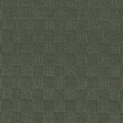 First Impressions City Block Olive 24 in. x 24 in. Commercial Peel and Stick Carpet Tile (15-tile / case)