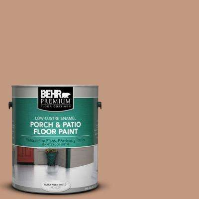 1 gal. #PPU3-12 Egyptian Pyramid Low-Lustre Interior/Exterior Porch and Patio Floor Paint