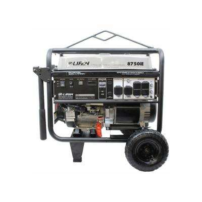Platinum Series 8,750/8,000-Watt Gasoline Powered with Electric Start Clean Power Portable Generator