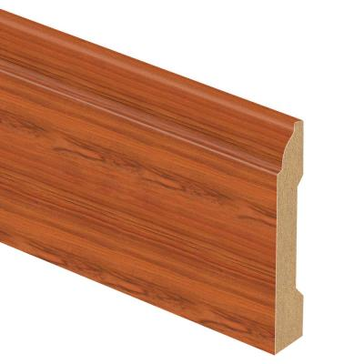 Paradise Jatoba 9/16 in. Thick x 3-1/4 in. Wide x 94 in. Length Laminate Base Molding