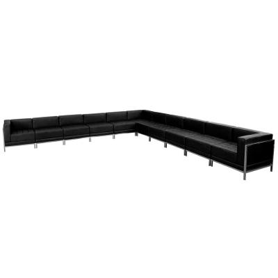 10-Piece Black Living Room Sets