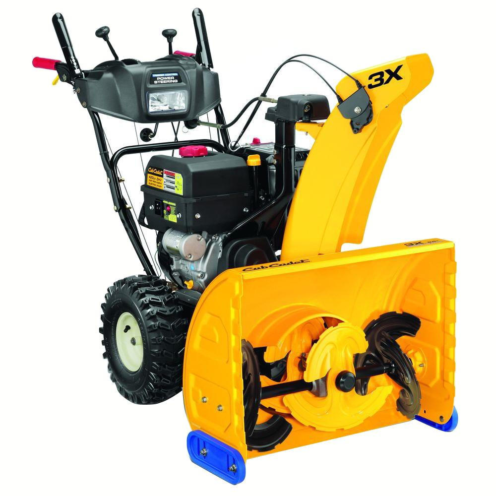Cub Cadet 3x 26 In 357cc 3 Stage Electric Start Gas Snow Blower