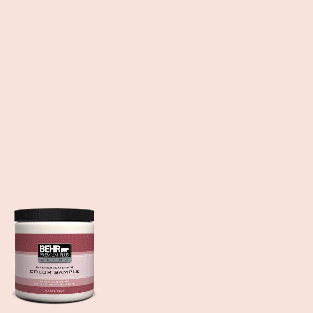 Behr Premium Plus Ultra 8 Oz 190a 1 Soft Pink Matte Interior