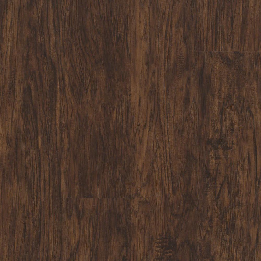 Floorte Jefferson 7 in. x 48 in. Spice Resilient Vinyl Plank Flooring (18.68 sq. ft. / case)