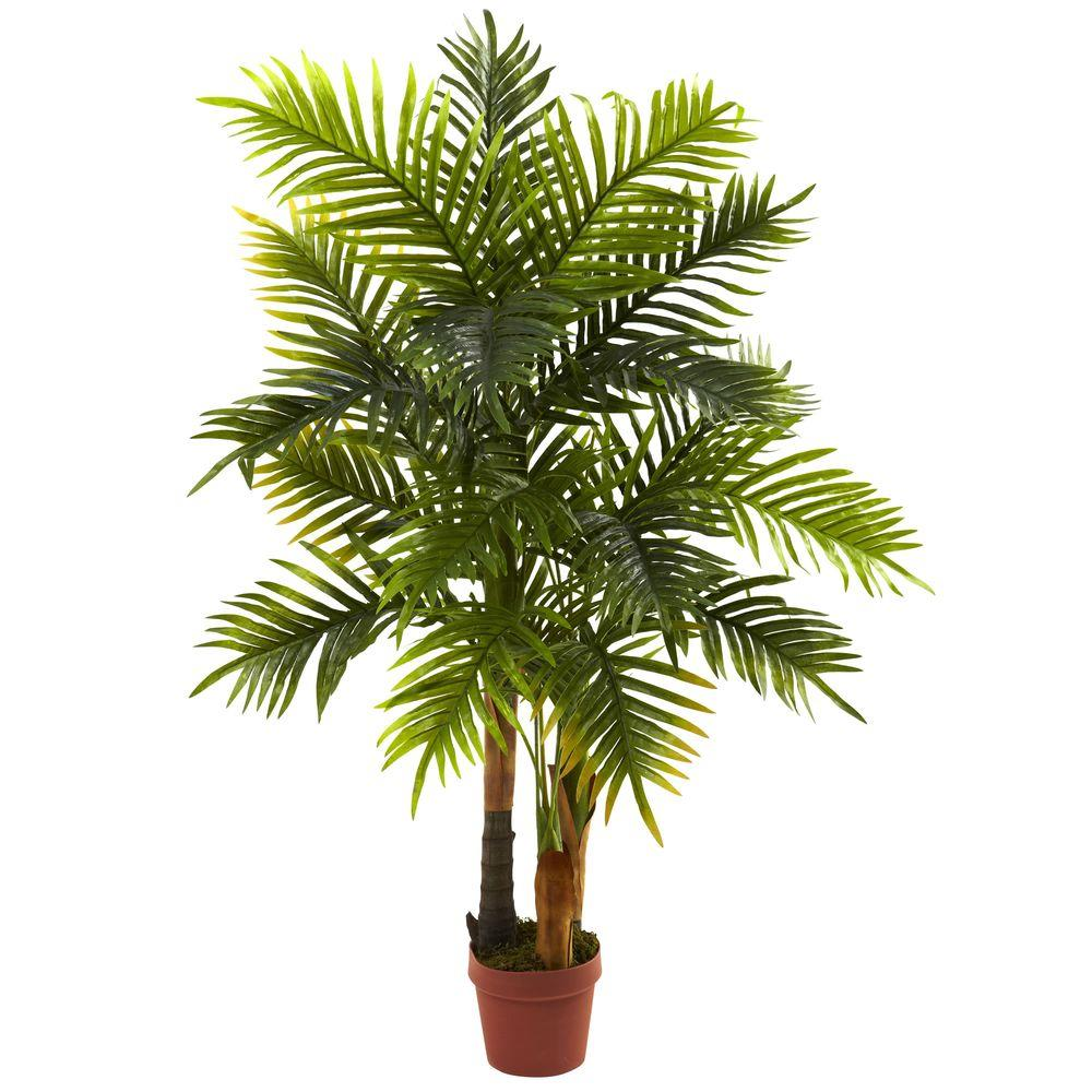 Nearly Natural Real Touch 4 Ft Areca Palm Tree 5424 The