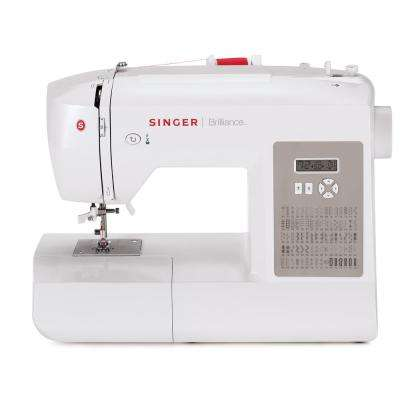 Brilliance 80-Stitch Sewing Machine With Automatic Needle Threading