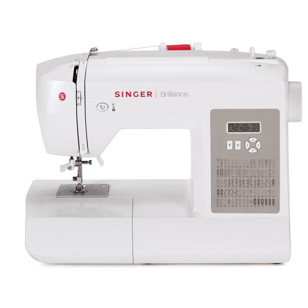 Singer Brilliance 80-Stitch Sewing Machine With Automatic