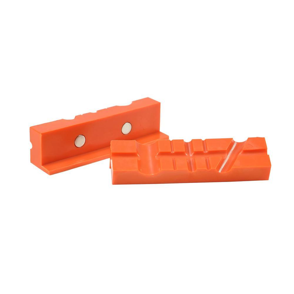 Multi-Purpose Magnetic Vise Jaw (2-Pack)