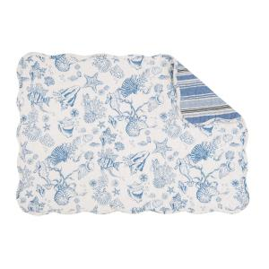 C & F Home Blue Waters Quilted Placemat (Set of 6) by C & F Home