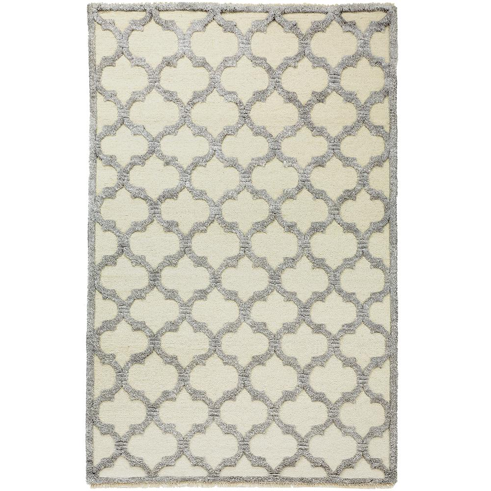 Downe Ivory/Grey 5 ft. x 8 ft. Area Rug
