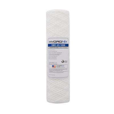 SWC-25-1030 2.5 in. x 10 in. 30 Micron String Wound Filter