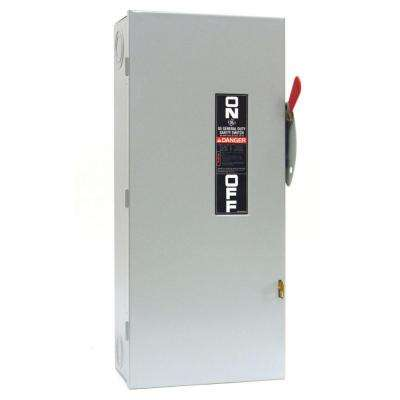 100 Amp 240-Volt Non-Fuse Indoor Safety Switch