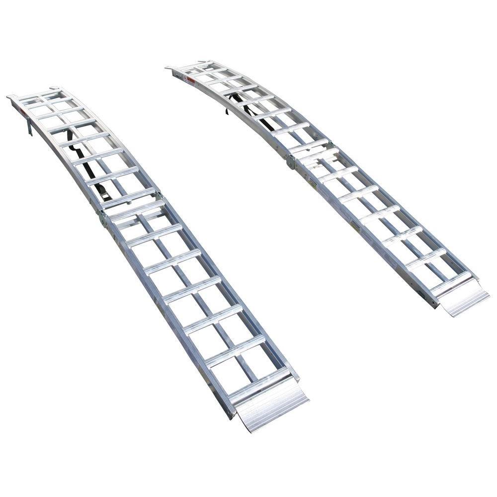Aluminum Folding Arched Ramp