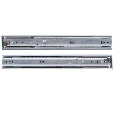 28 in. Soft Closed Full Extension Ball Bearing Side Mount Drawer Slide