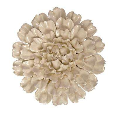 Isabella Flower Large Ceramic Wall Decor
