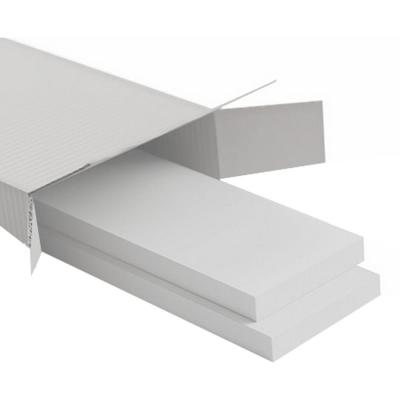 5/8 in. X 96 in. X 5-1/2 in. Expanded Cellular PVC Classic Wainscot Moulding System
