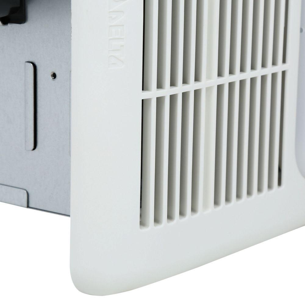 delta breez ceiling bathroom exhaust fan light heater 80