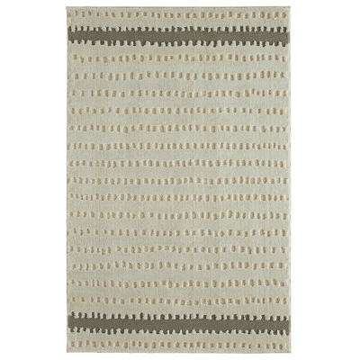 Oslo Gray By Under The Canopy 8 ft. x 10 ft. Indoor Area Rug