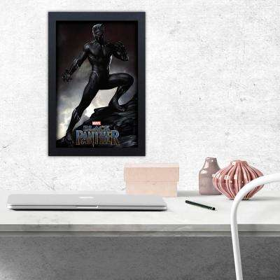 Black Panther Mountain Top Framed Print