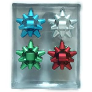 Bow Ornament (8-Count)