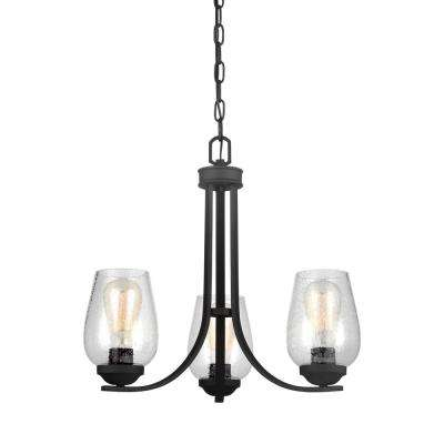 Morill 3-Light Blacksmith Chandelier