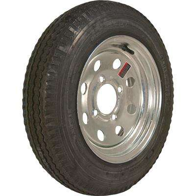 530-12 K353 BIAS 1045 lb. Load Capacity Galvanized 12 in. Bias Tire and Wheel Assembly