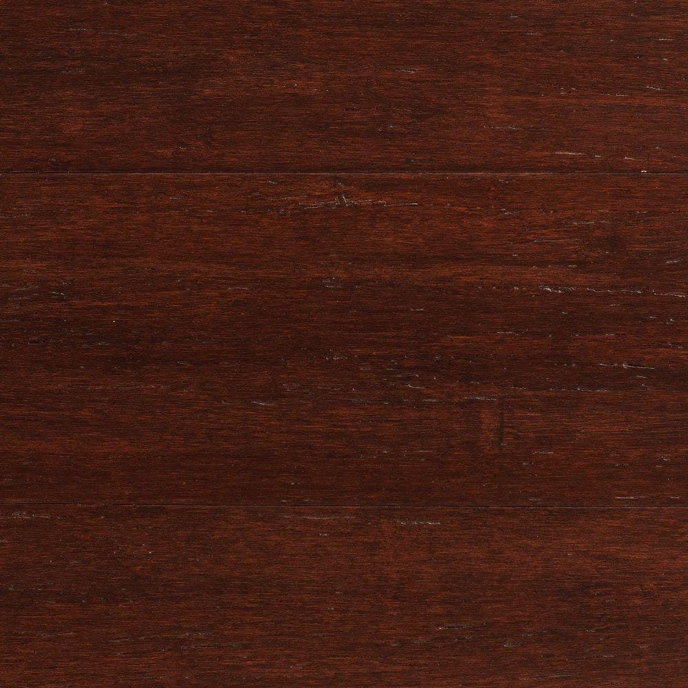 Home Decorators Collection Strand Woven Dark Mahogany 1 2 In Thick X 5 1 8 In Wide X 72 7 8 In