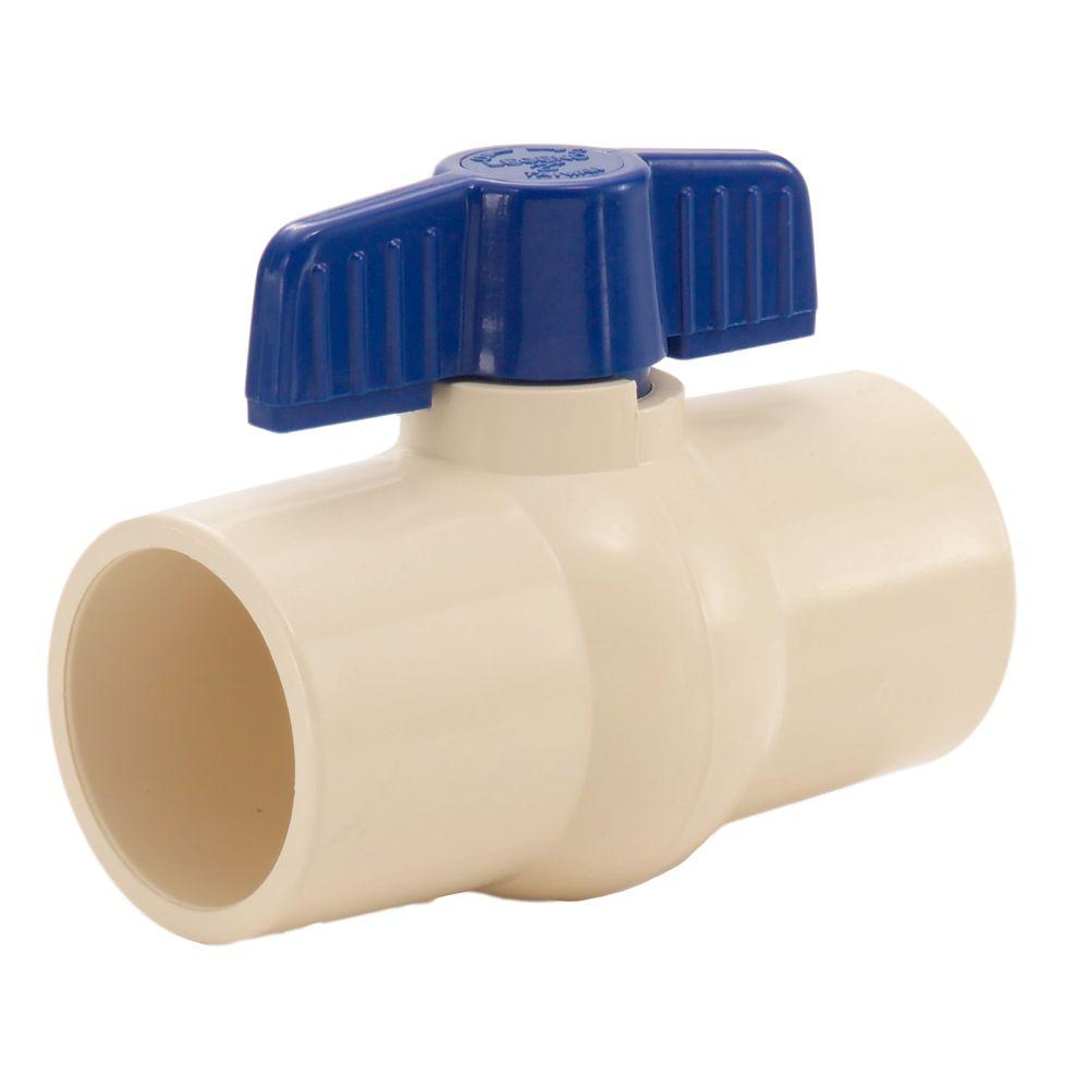 LEGEND VALVE 1 in. CPVC Socket Ball Valve