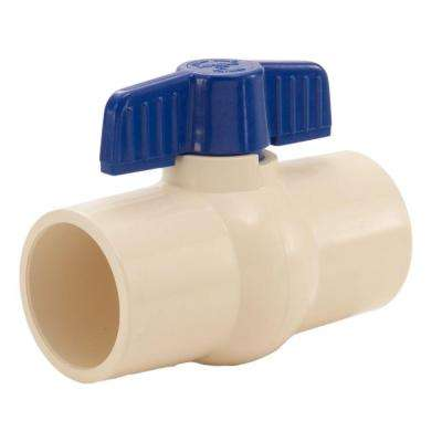 1 in. CPVC Socket Ball Valve