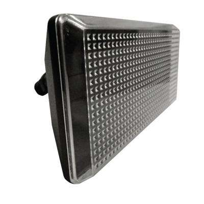 Multi-Use Wall Mount 1-Light Outdoor Black LED Flood Light