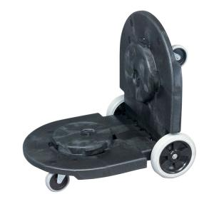 Rubbermaid Commercial Products BRUTE Tandem Trash Can Dolly by Rubbermaid Commercial Products