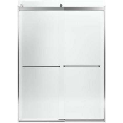 Levity 32-1/16 in. x 82 in. Shower Door in Silver