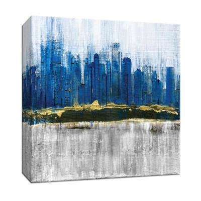 15 in. x 15 in. ''Sapphire City'' By PTM Images Canvas Wall Art