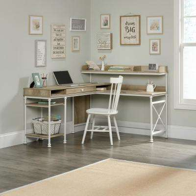 Corner Unit Coastal Desks Home Office Furniture The