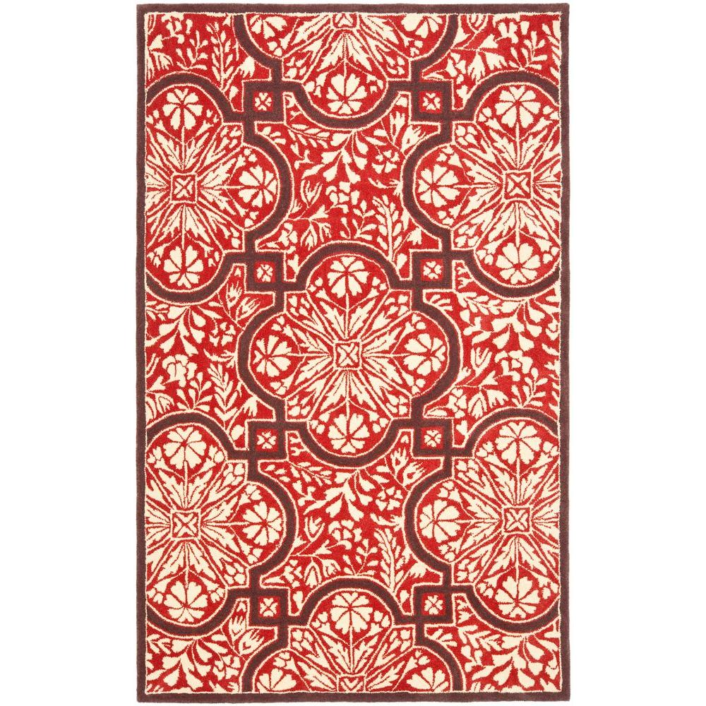 Vermillon 9 ft. x 12 ft. Area Rug