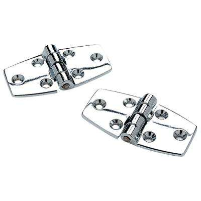 Utility Face frame Chrome Plated Zinc Hinge (1-Pair)