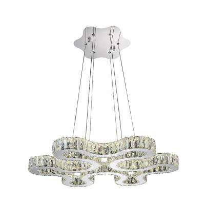 Odessa 1-Watt Chrome Integrated LED Chandelier