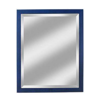 Harbour Collection Blue Wall Mirror