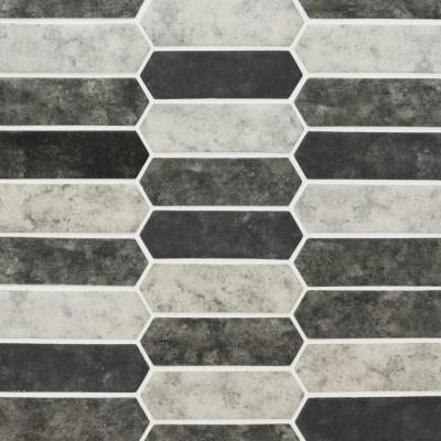 Urban Tapestry Picket 9.5 in. x 14 in. x 6 mm Glass Mesh-Mounted Mosaic Tile (13.95 sq. ft. / case)